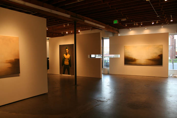 An installation shot in Seattle Gallery