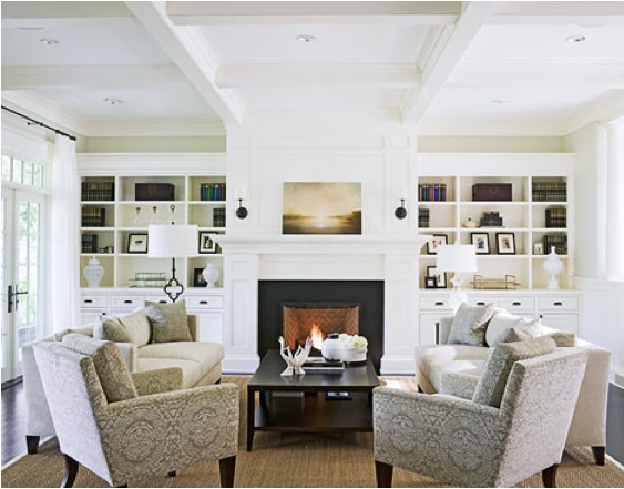 Chic Elegance Of Neutral Colors For The Living Room 10 Amazing Examples: Works By Betsy Eby & Hiro Yokose Featured In Traditional