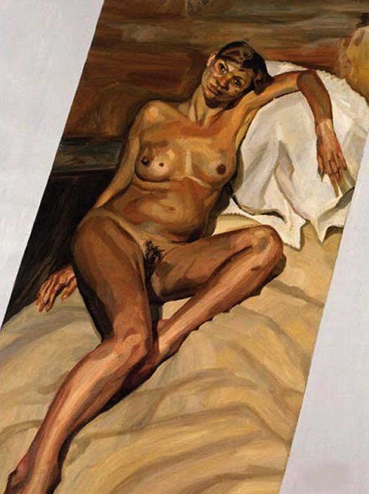 Opinion you Lucian freud naked portrait